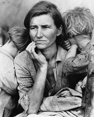 Photo by Dorothea Lange, 1936