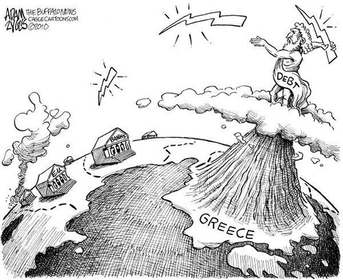 Greek Mountain of Debt