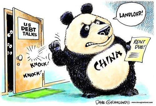 China and US debt