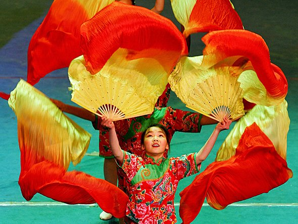 china dance colors